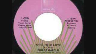 Childe Harold - Anne With Love 1968 Psych