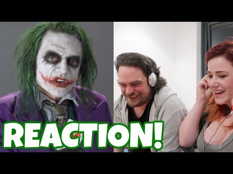 Reacting to Tommy Wiseau as the Joker!