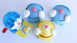 How to make Doraemon Butt Cupcake