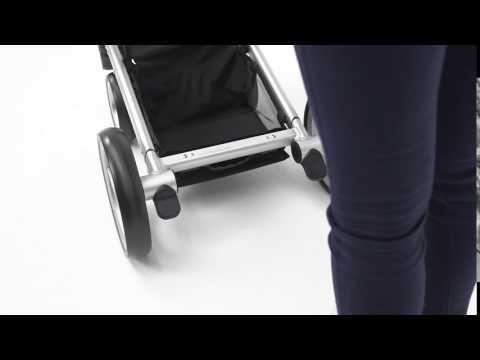 Mutsy Промо пакет Шаси със светлокафява дръжка + Кош за новородено + Седалка и сенник i2 Pure Fog #xA5GeSs96DQ