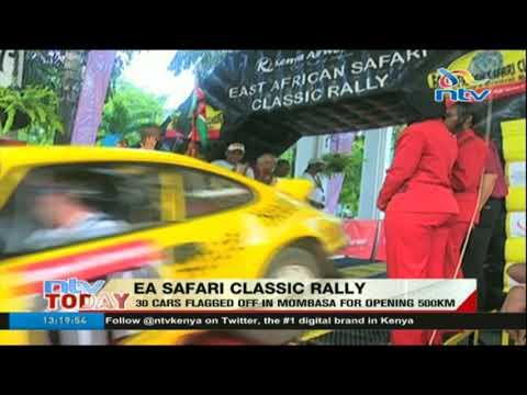 EA Safari Classic Rally: 30 cars flagged off in Mombasa for opening 500km