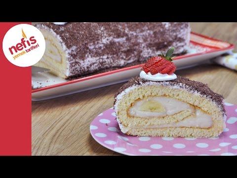 Rulo Pasta Nasıl Yapılır? | Kolay Yaş Pasta Tarifi
