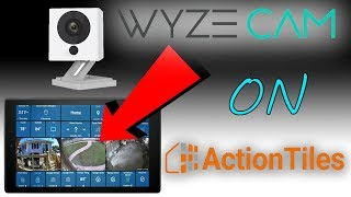 View WYZECAM streams on ACTIONTILES using TinyCam | Part 1