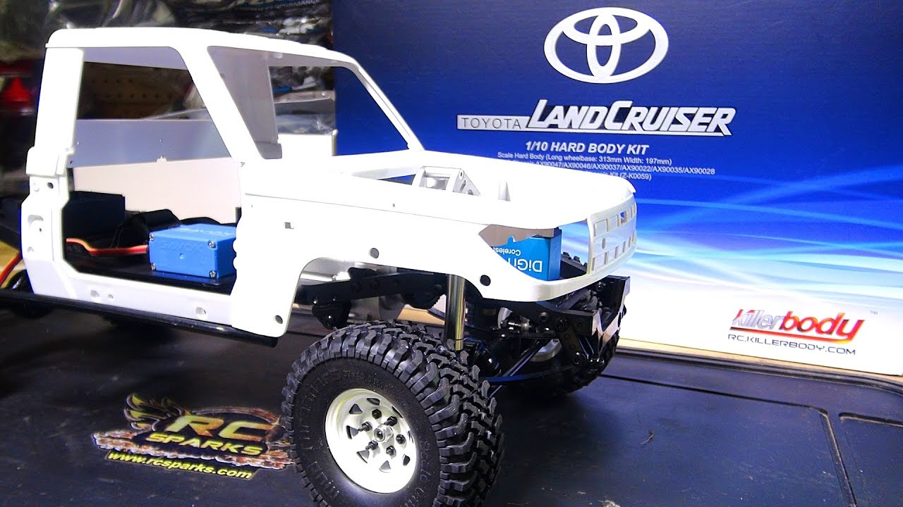 KiLLER BODY Toyota LAND CRUiSER LC70 for my RC4WD TF2 LWB 4x4! UNBOXiNG |  RC ADVENTURES