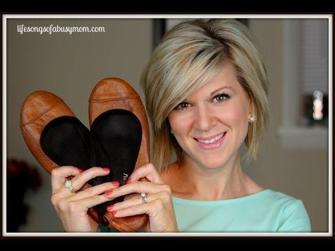 indyk leather ballet flats review
