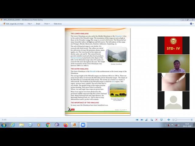 Online Classes | 28-05-2020 | STD 4 | SST, Chapter 2