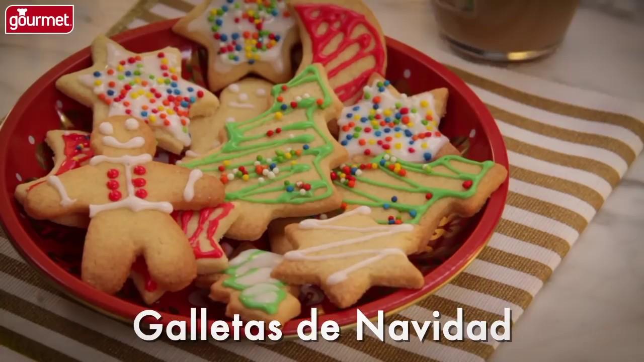 Receta De Galletas De Navidad Gourmet Youtube