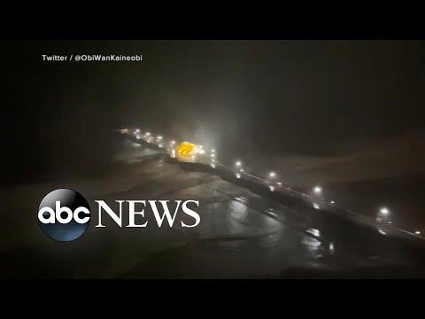 Isaias makes landfall