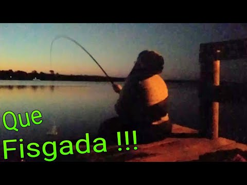 ELA FAZ A DIFERENÇA!!! Pescaria NOTURNA