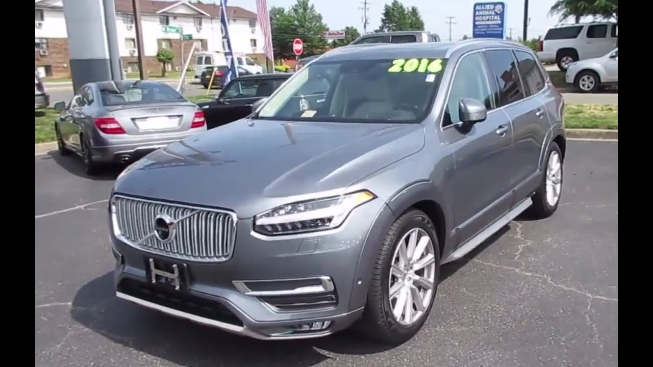 2016 volvo xc90 t6 inscription walkaround start up to doovi. Black Bedroom Furniture Sets. Home Design Ideas
