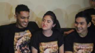 Preskon Film Bangkit Dari Lumpur - Robby Shine & Dewi Perssik