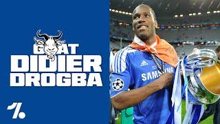 OneFootball GOATs: Didier Drogba - Eine unaufhaltsame Naturgewalt!