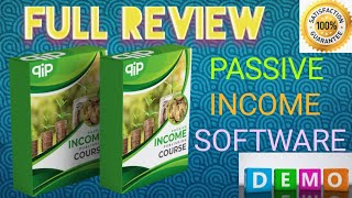 PASSIVE INCOME PUBLISHING COURSE | PASSIVE INCOME SOFTWARE | LIVE DEMO | FULL REVIEW