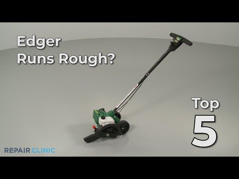 "Thumbnail for video ""Edger Runs Rough? Edger Troubleshooting"""