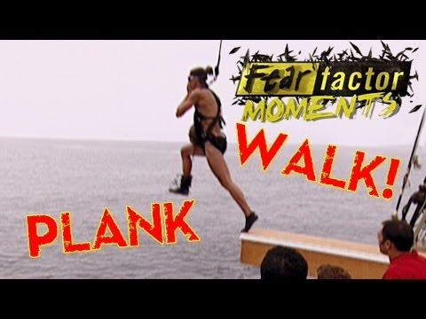 Fear Factor Moments | Walk the Plank