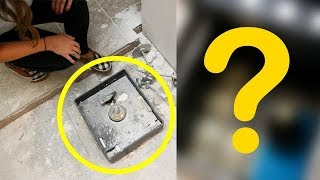 Супруги нашли потайной сейф во время ремонта своей кухни. То, что было внутри, заставило их ахнуть!
