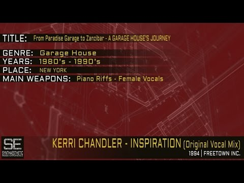 Kerri Chandler - Inspiration (Original Vocal Mix) (Freetown Inc | 1994)