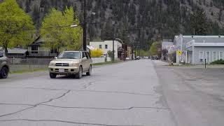 Driving in HEDLEY BC (British Columbia) - Small Town Life - Rural Canada
