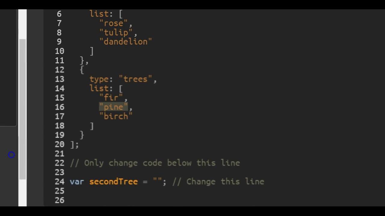 Accessing Nested Arrays, freeCodeCamp Basic Javascript