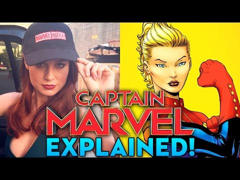 Who Is Captain Marvel? (Carol Danvers)