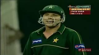 The Boom Boom Afridi 108 ( The Rain of 8 Sixes ) vs New Zealand at Sharjah April 2002