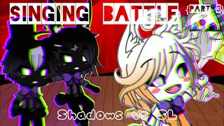 {FNAF SINGING BATTLE} Shadows vs Sister Location Extras | Gacha | EP 5 [Flash Warning]
