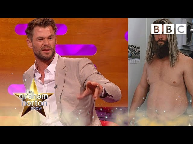 The truth about Chris Hemsworth's Thor fat suit  😂   The Graham Norton Show - BBC