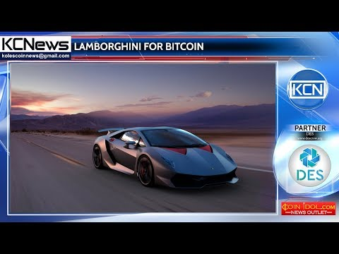 Buying Lamborghini Through Bitcoin is Now Possible