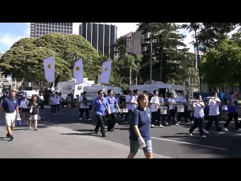 "Kamehameha ""Warrior"" Marching Band 