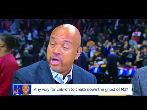 "NBA Countdown | ""LeBron Cannot Ever Catch Jordan!"""