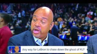 "NBA Countdown   ""LeBron Cannot Ever Catch Jordan!"""