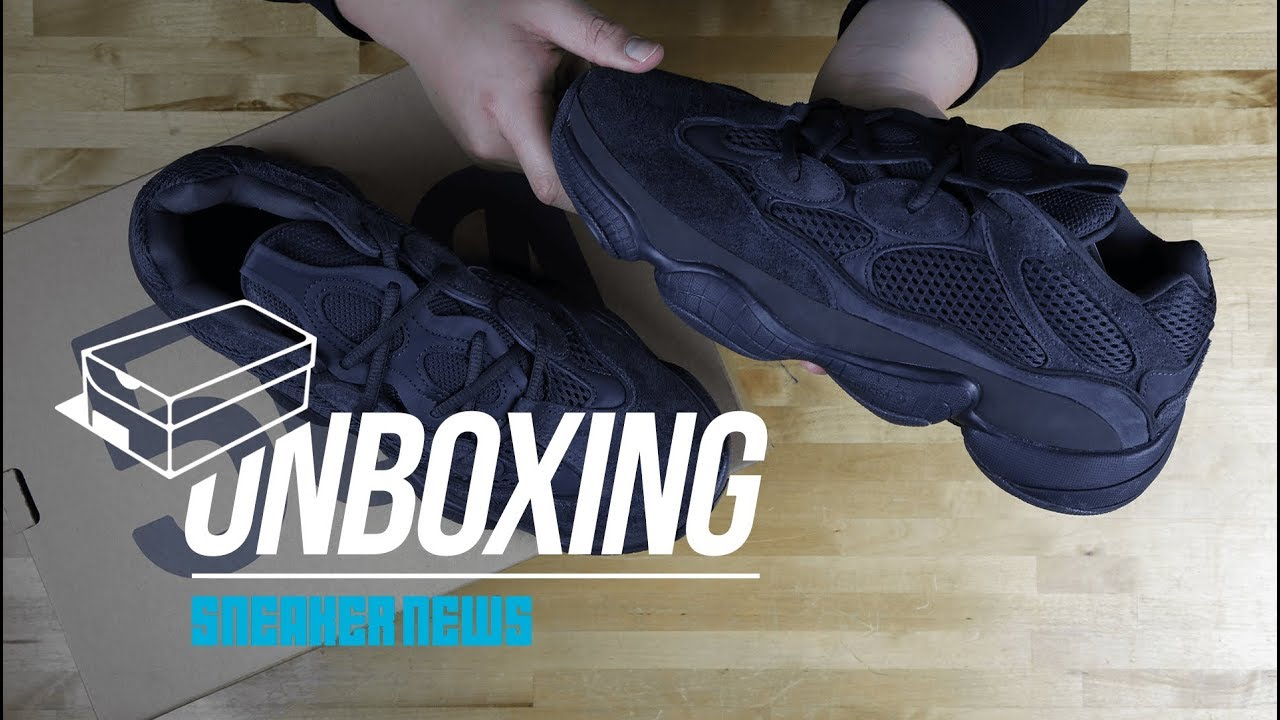 d9da7e054b9 Unboxing The adidas YEEZY 500