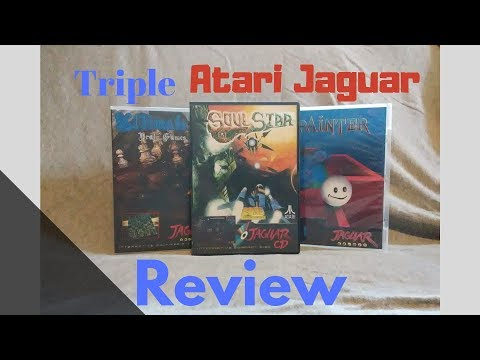 Soul Star, Painter and Ultimate Brain Games Review for the Atari Jaguar by Second Opinion Games