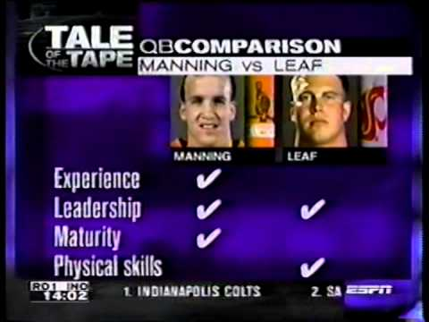 1998 NFL Draft (part 1)