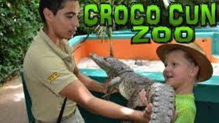 CROCO CUN ZOO Cancun - Puerto Morelos - Mexico (4K)