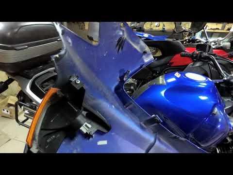 Honda Transalp  xl650 готовим к сезону. Обычное состоянеие transalp