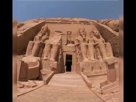Abou Simbel temple.