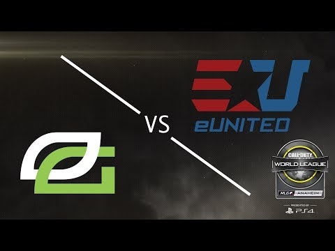 OpTic Gaming vs eUnited - CWL Anaheim Open Presented by PlayStation 4 - Day 1