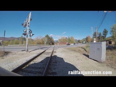 (GoPro) EMD GP35 Locomotive Plow Ride on Conway Scenic RR CSRX #216