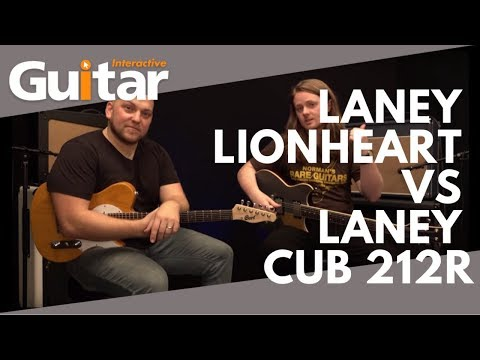 Laney Lionheart L20T-112 Vs Laney Cub 212R - Win one of these incredible Laney Combo Amplifiers