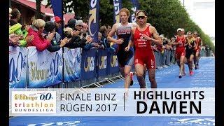 1. Bitburger 0,0% Triathlon-Bundesliga - Binz 2017: Highlights Damen