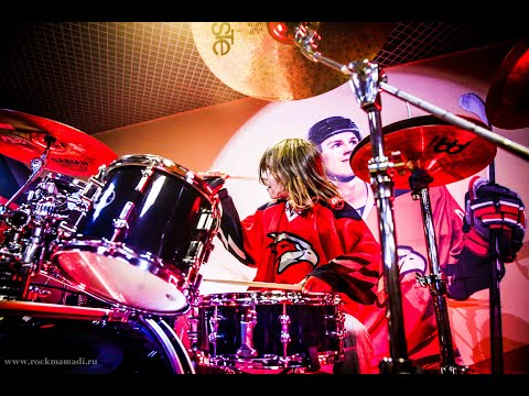 Ace Of Spades MOTORHEAD Cover By @jeka_petrovskii Russian Drummer 13 Years Old