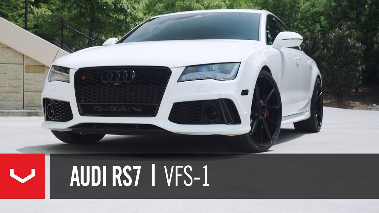 Audi RS Atlanta Panda Vossen VFS YouTube - Atlanta audi