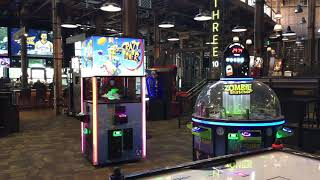 The REC Room Toronto Arcade Area  - Toronto Ontario Canada   Overview