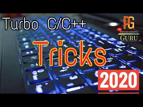 Turbo C/C++ | Tricks | Hidden Features | Shortcut Keys | Latest | In Hindi | Programming Guru