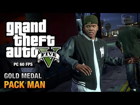 GTA 5 PC - Mission #58 - Pack Man [Gold Medal Guide - 1080p 60fps]