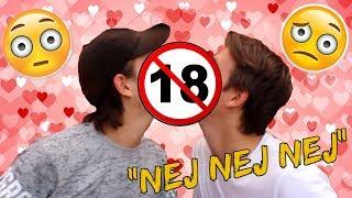 Snapchat (Udfordringer): Kys hinanden på MUNDEN??