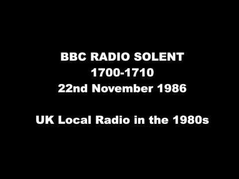 BBC RADIO SOLENT NOV 1986 1700 1710
