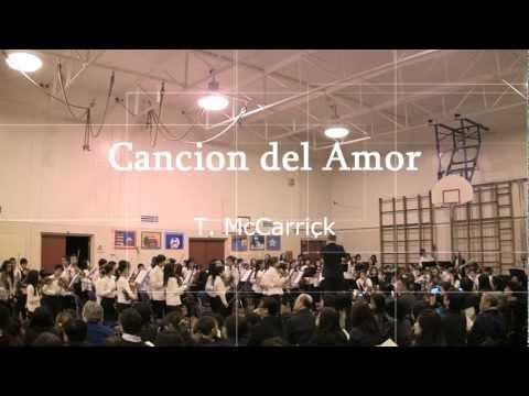 Cancion del Amor - 2012 Senior Winter Concert - Jamieson Elementary School