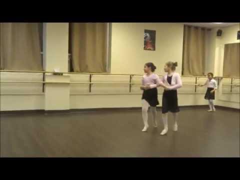 Ballet 1 & 2 Open House - Polka + Grand Jetes (part 9)
